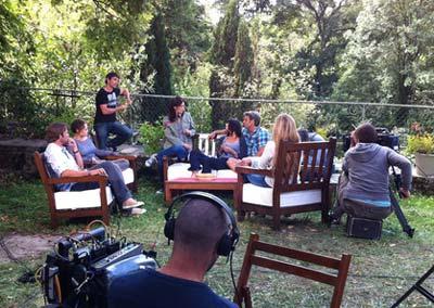 TMC JLA sur le tournage de la saison 2