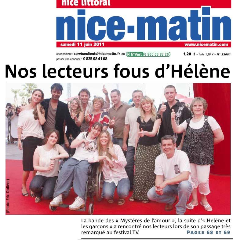 Article Nice Matin - Rencontre écotourisme Vésubie